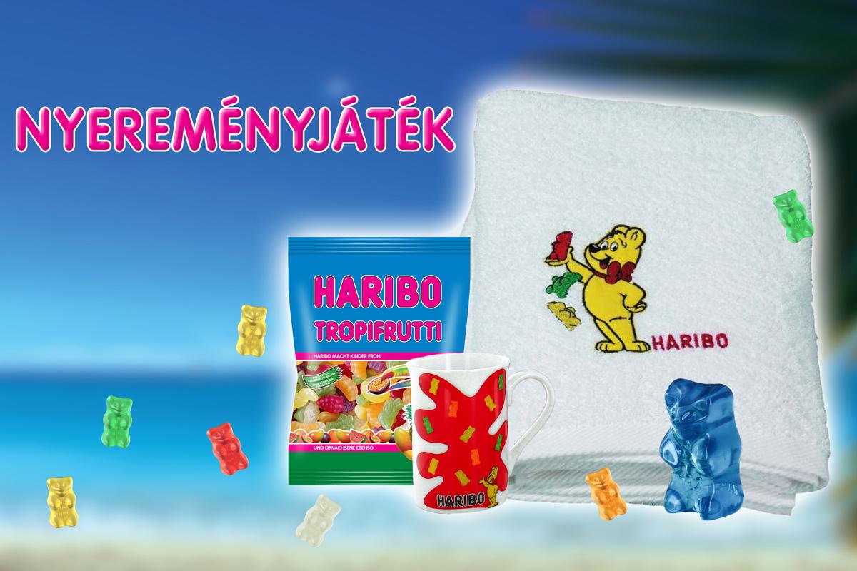 Nyerj Haribo ajándékcsomagot!