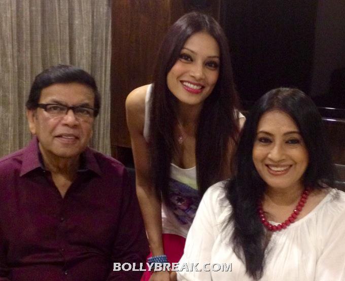 , Bipasha Basu Family Pics - Real Life Mom And Dad