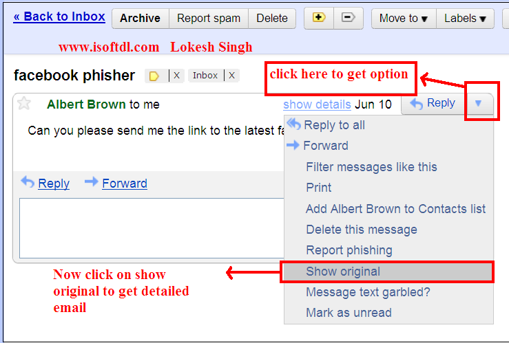how to know if email was read gmail