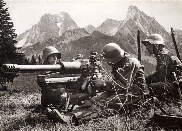 Swiss army until world war 2
