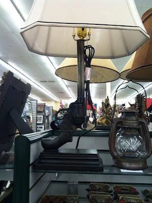 revolver lamp