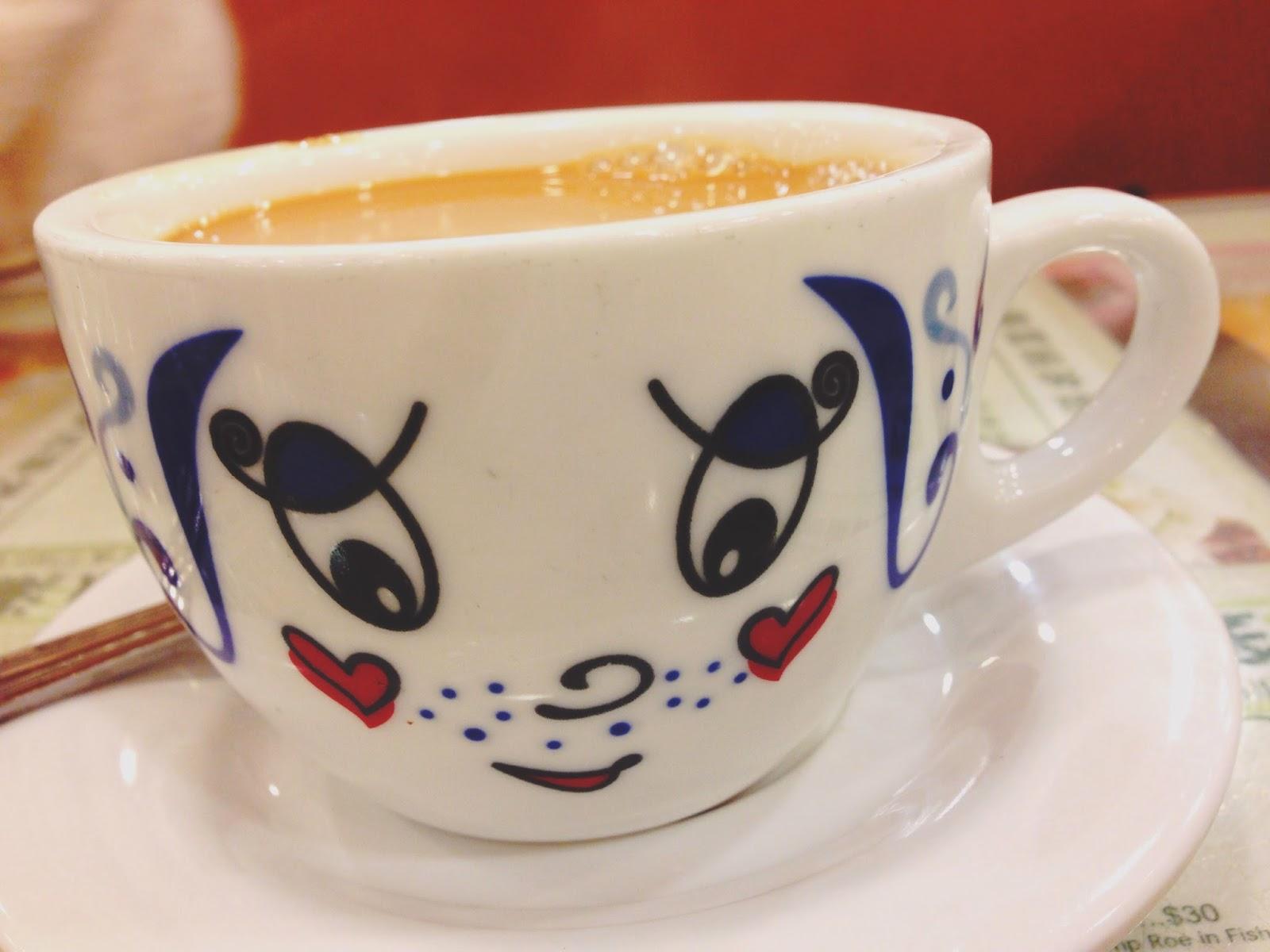 Tsui Wah Restaurant Hong Kong Milk Tea