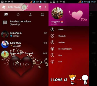 BBM MOD Love v2.10.0.35 - Love (not clone)