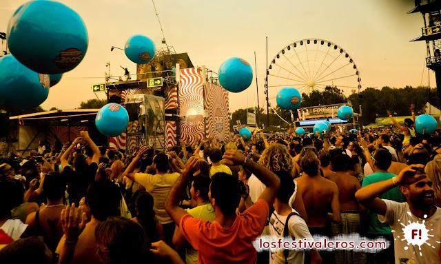 Baloon Party en el FESTIVAL SZIGET BUDAPEST