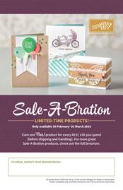 Sale-a-Bration 2016 (5 januari 2016 - 31 maart 2016)