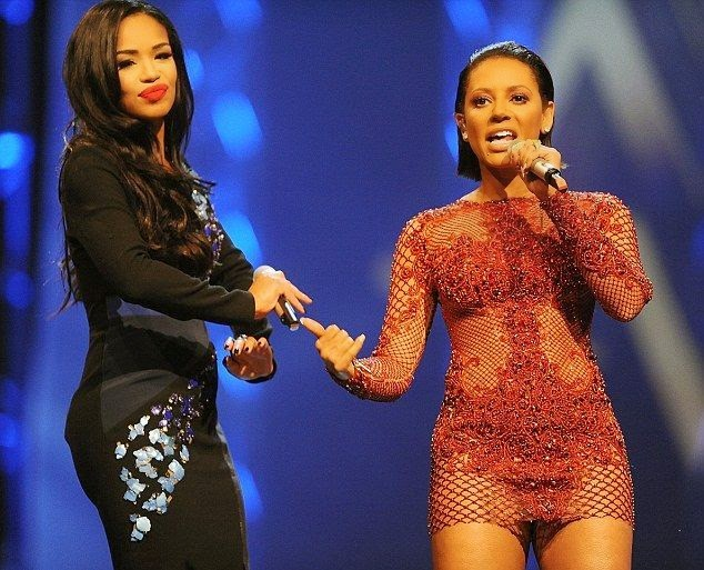 The singer, 39 ensured she put her unstopping figure on display in all its glory as she changed her fashion language in a red mini dress on the Music of Black Origin Awards stage with X-Factor host, Sarah Jane Crawford.