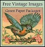 Green Paper Packages Free Vintage Images
