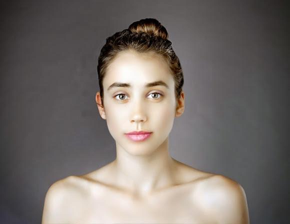 Esther Honig fotografia photoshop padrão beleza feminina auto retrato global