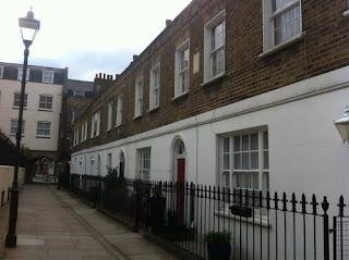 A quiet mews, Clerkenwell, London EC1