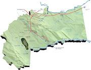 . al oriente de la región andina y al occidente de los Llanos Orientales. (mapameta)