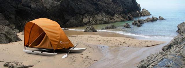 палатка каяк