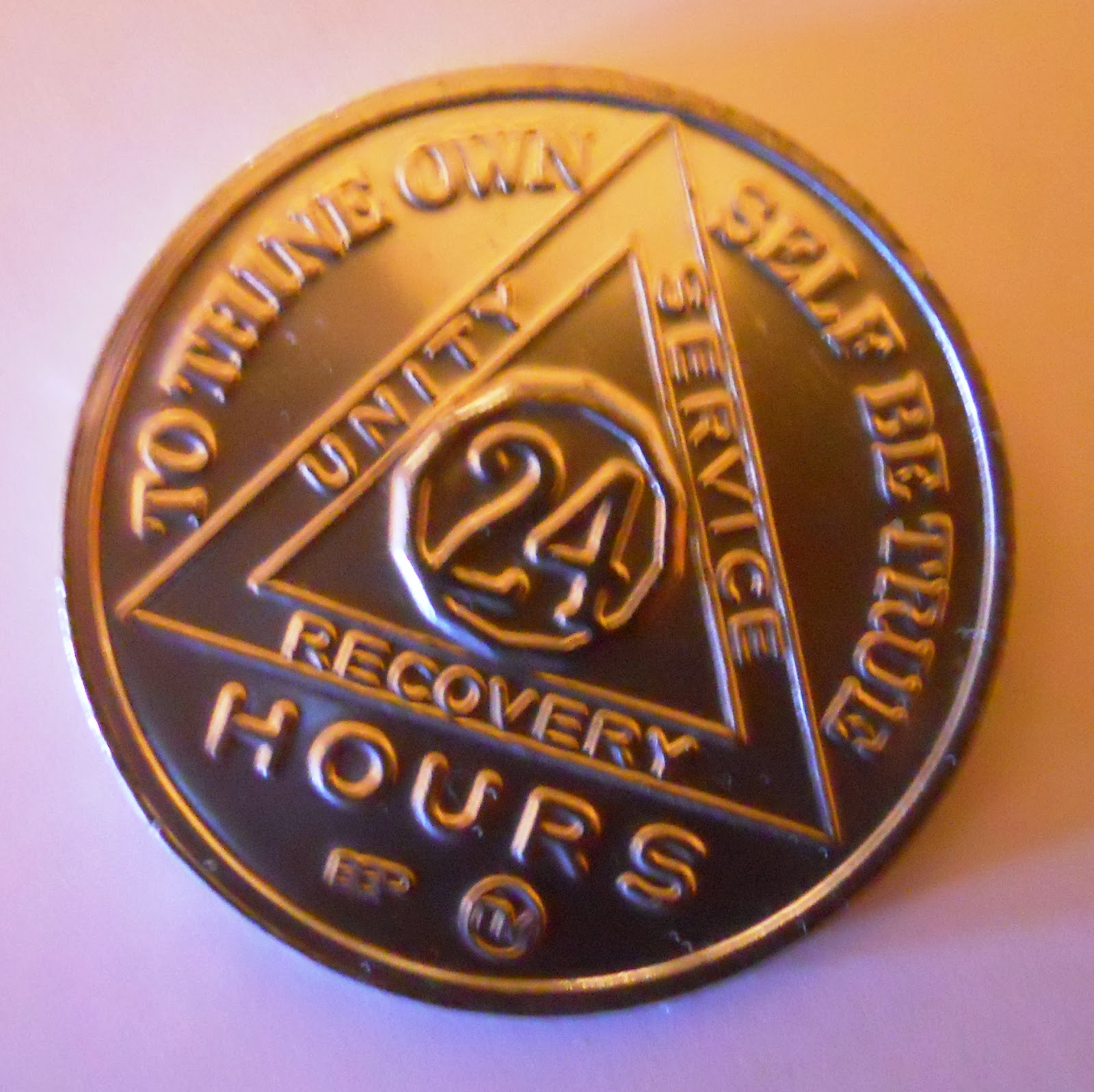 24 Hour AA Chip Passport To Recovery