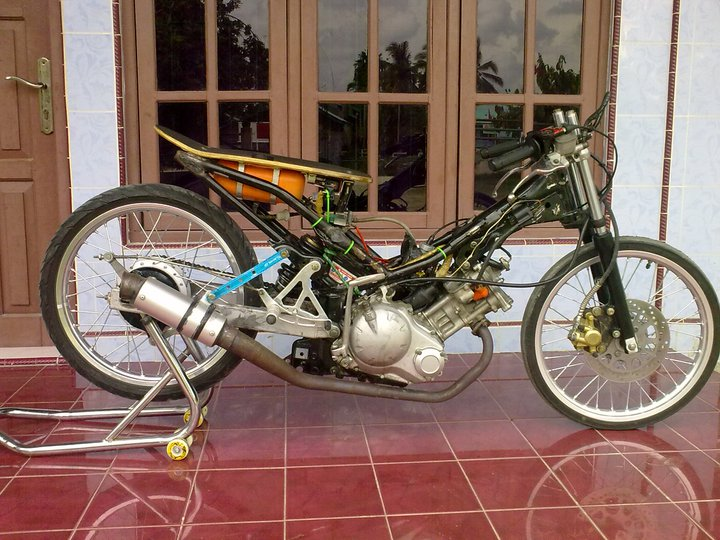 Modifikasi Jupiter Mx Fighter