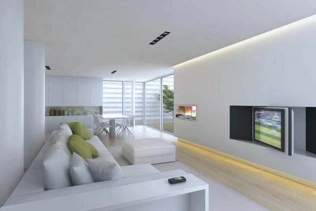 Ideas para decorar interiores modernos arquitectura for Diseno de interiores bocetos modernos