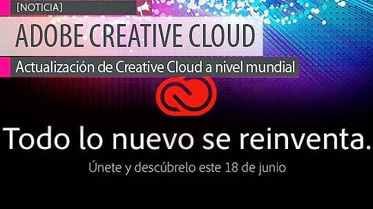 ¡Actualización de #CreativeCloud a nivel mundial!