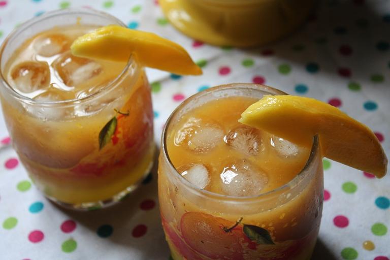 Mango Iced Tea Recipe / Mango Tea Recipe