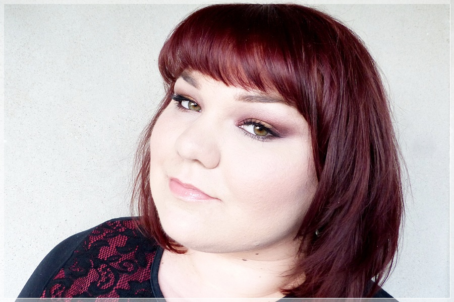 make up look mit fyrinnae pigmenten