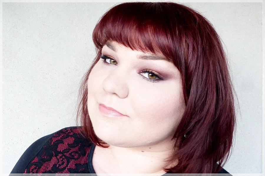 make up look mit fyrinnae pigmenten