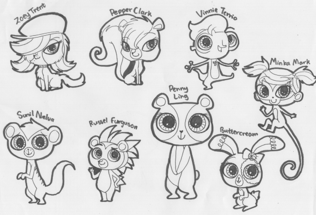 Littlest Pet Shop Dogs List Littlest Pet Shop is a