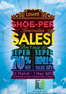 Lewre Shoe-Per Renovation Sale 2013
