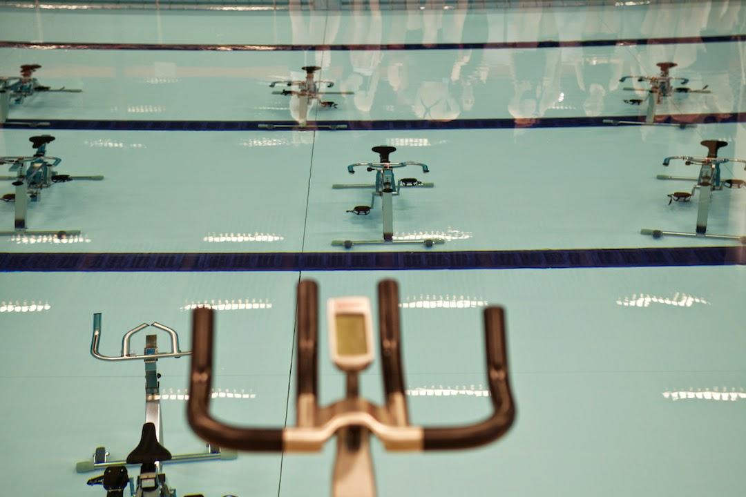 Aqua spin class