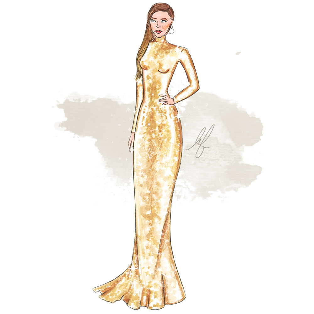 Kristina Bazan fan art by Lubna Omar