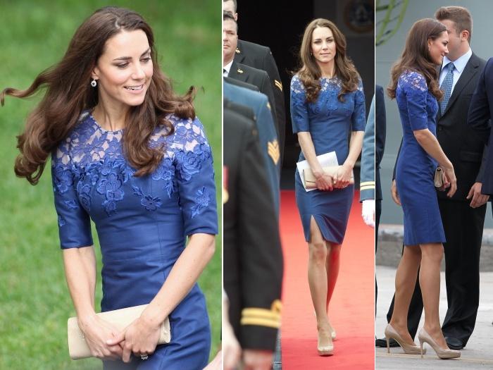 Bolsa de festa para vestido azul marinho