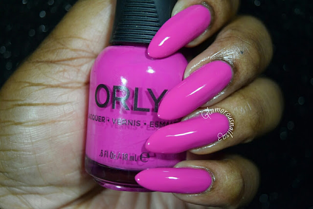 "Orly Adrenaline Rush ""Risky Behavior"" Swatch"