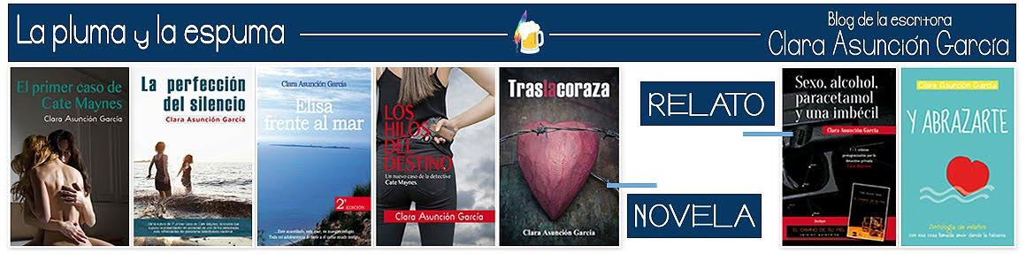 Clara Asunción García - La pluma y la espuma