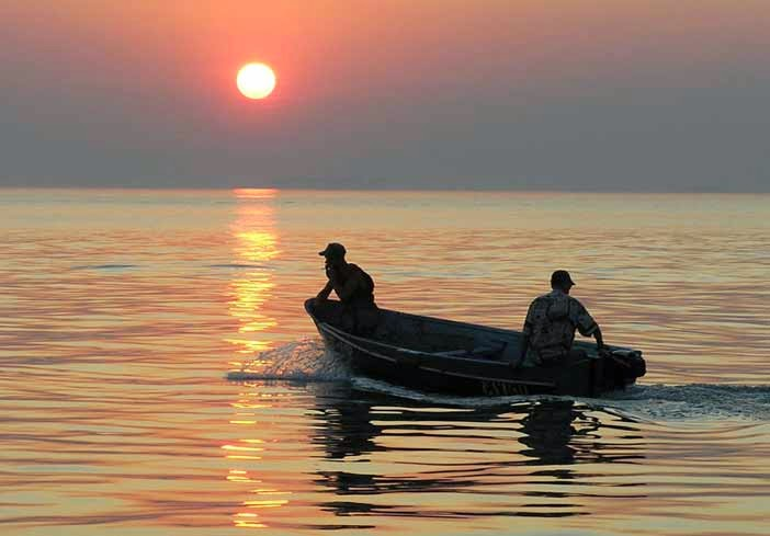 Рыбалка август