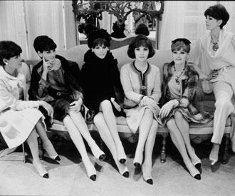 Pensando en las muselinas historia de los zapatos bicolor - Los anos cincuenta ...