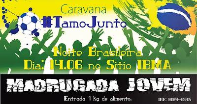 II Tamos Juntos. Madrugada Jovem Benfica Belém-Pa