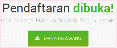 Muslim Niaga Platform Dropship, cara daftar Muslim Niaga Platform Dropship
