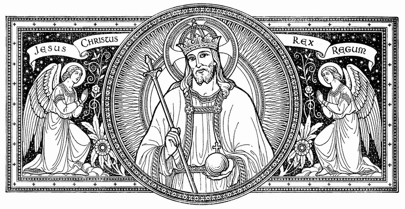 Điệp ca Habet in vestimento lễ Chúa Kitô Vua Vũ Trụ