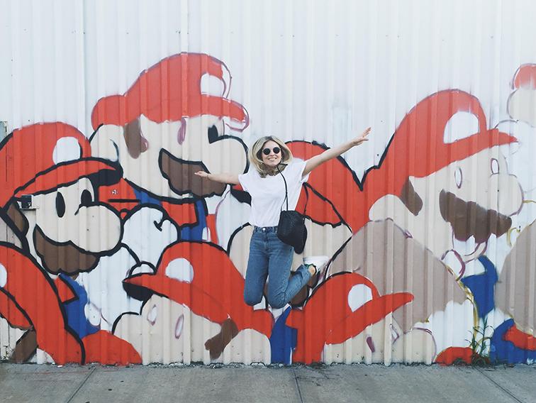Fashion Over Reason Super Mario Brothers Brooklyn Mural
