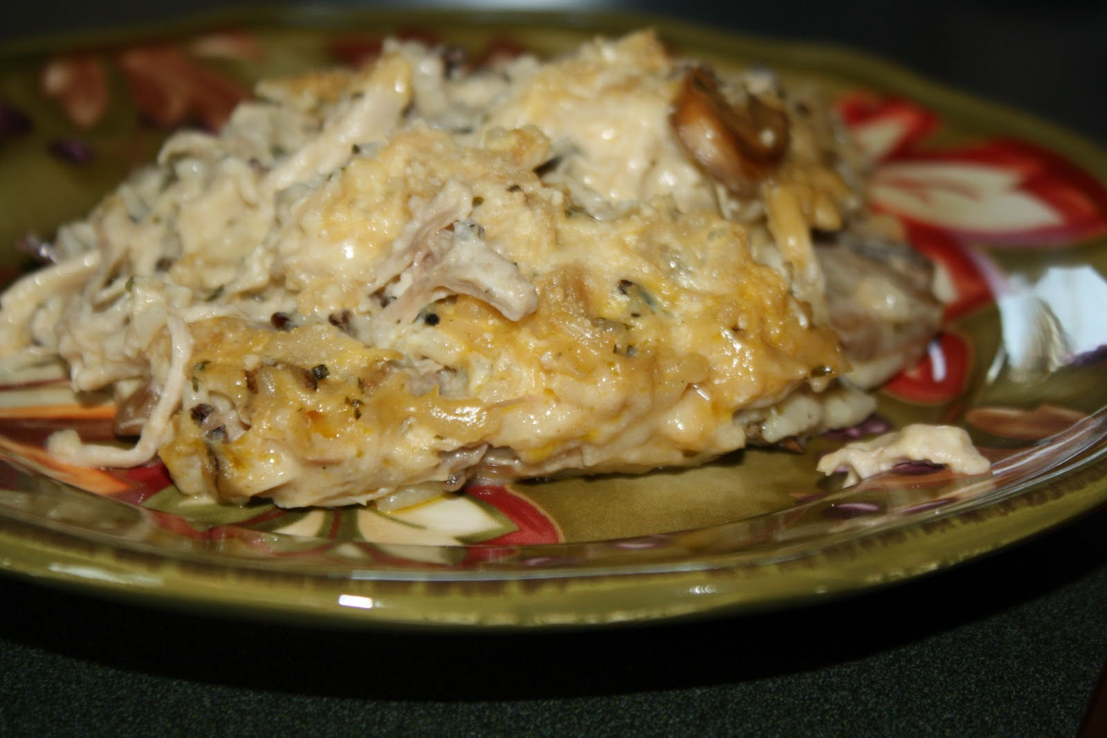 Chicken & Wild Rice Casserole | Mostly Homemade Mom