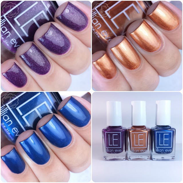 Lillian Eve - Winter 2015 - The Goddess Collection Swatches & Review