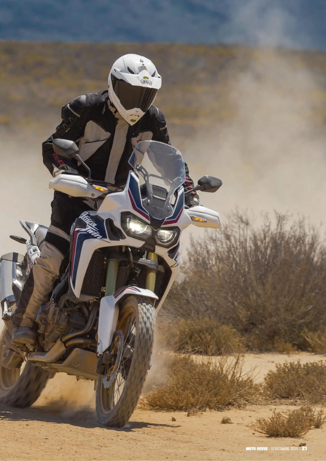 Africa twin essai as moto revue for Resultat pae 2016