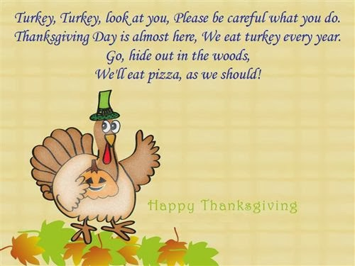 Top Funny Thanksgiving Poems For Kids