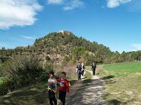 El Castell de Balsareny des del Pla del Vilar