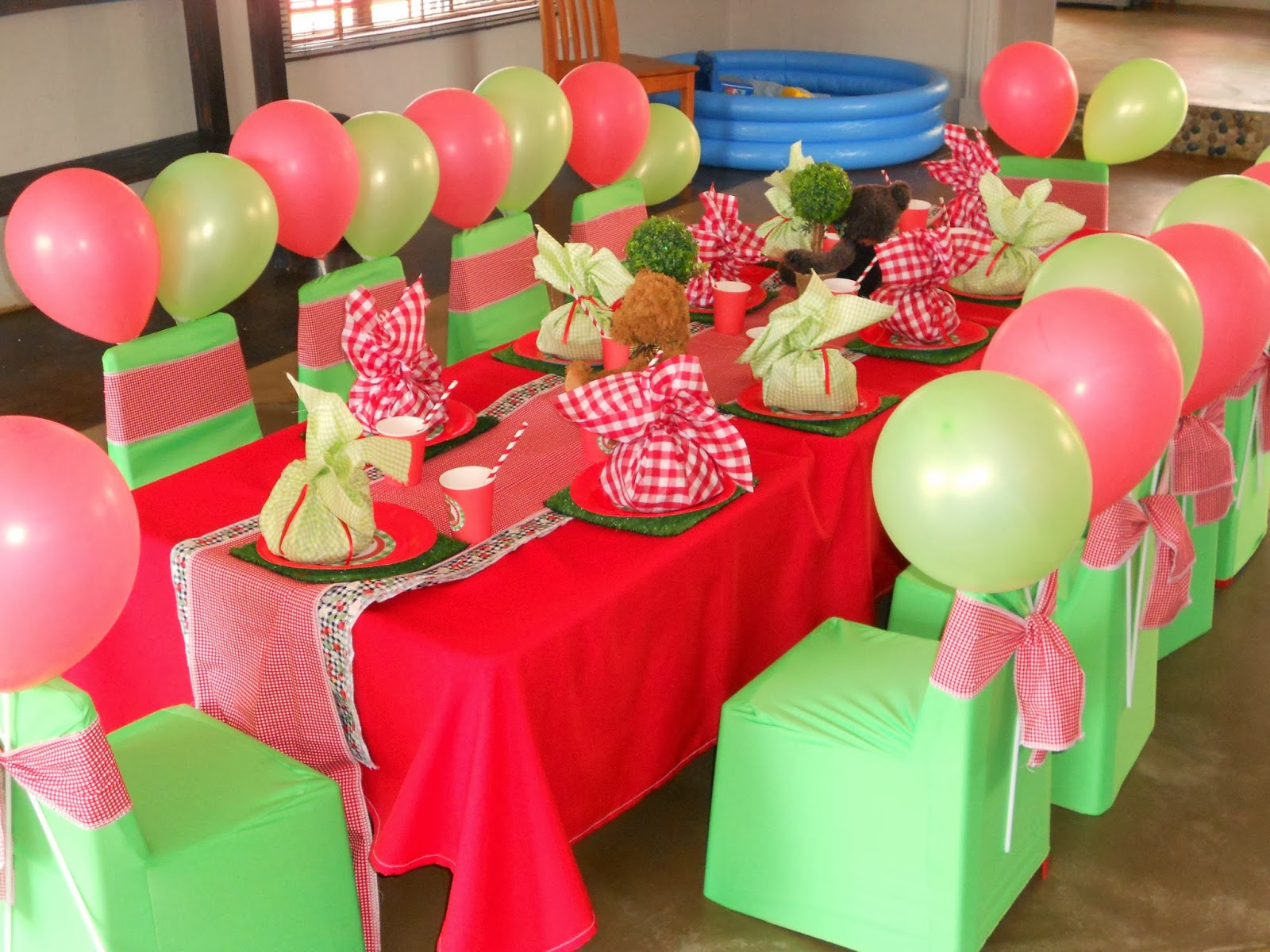 Cup of Rooibos: Teddy Bear Picnic 1st Birthday Party