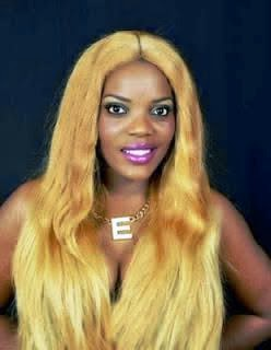 EMPRESS NJAMA POSES NUDE TO SHOW OFF BLONDE HAIR