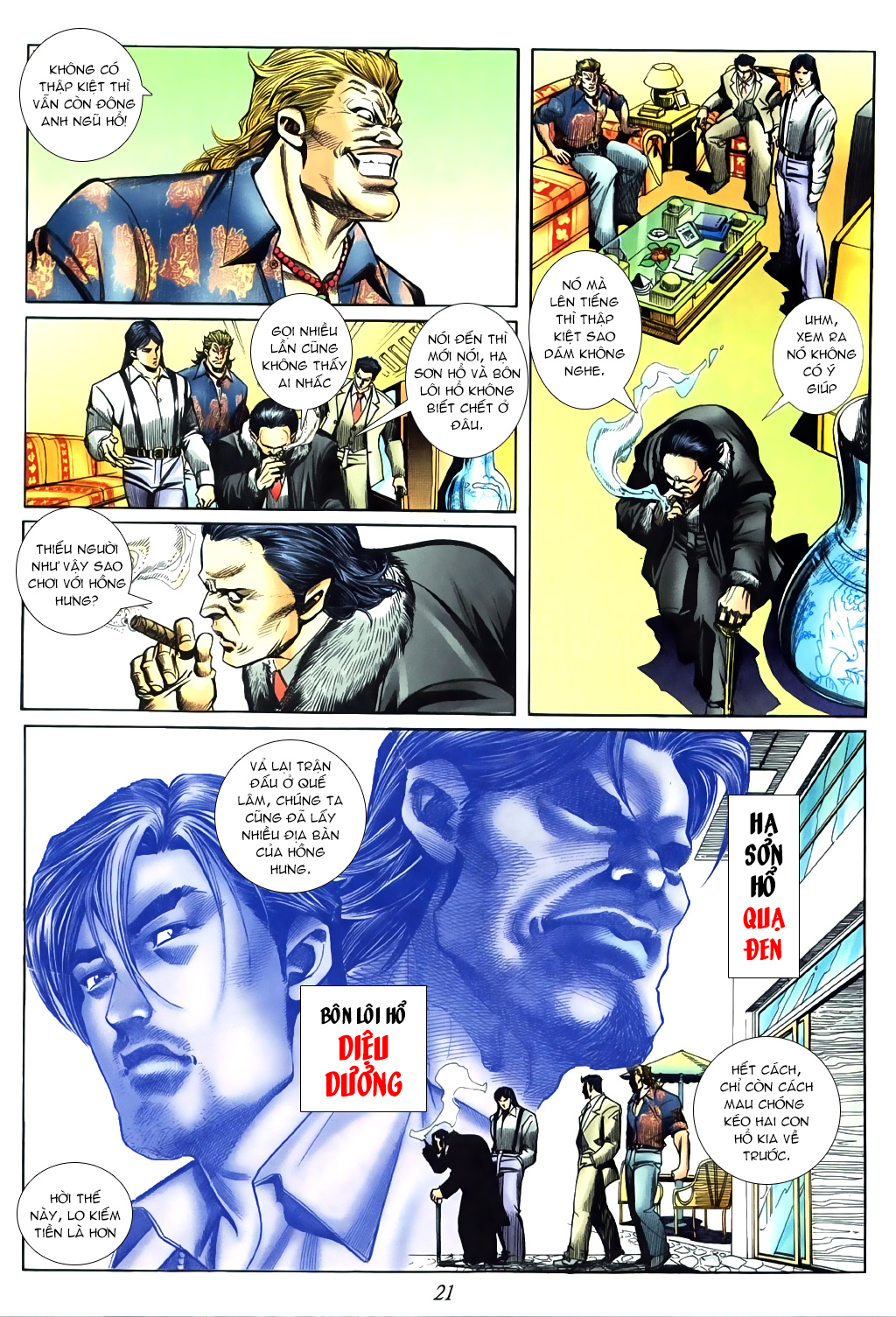 Người Trong Giang Hồ Chap 437 - Next Chap 438 image 15