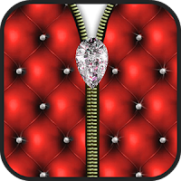 diamond zipper screen lock apk