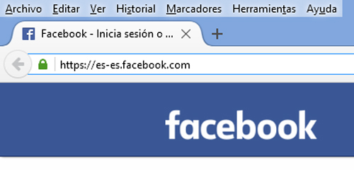 abrir facebook en español