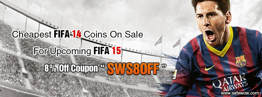 don't miss cheaper fifa 14 coins on safewow.com with 8% discount code SWS8OFF  SWS8OFF
