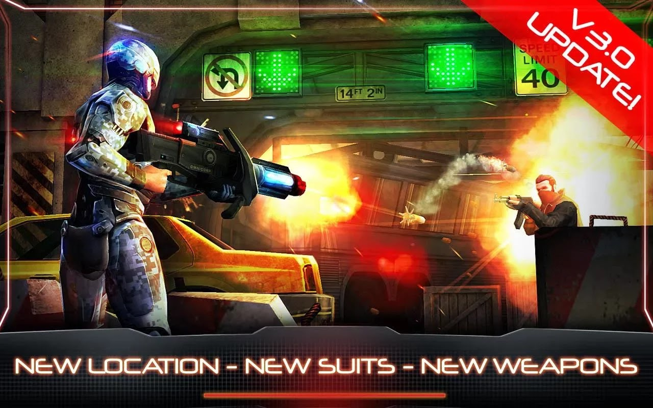 RoboCop™ v3.0.0 Mod [Unlimited Money/Glu Gold]