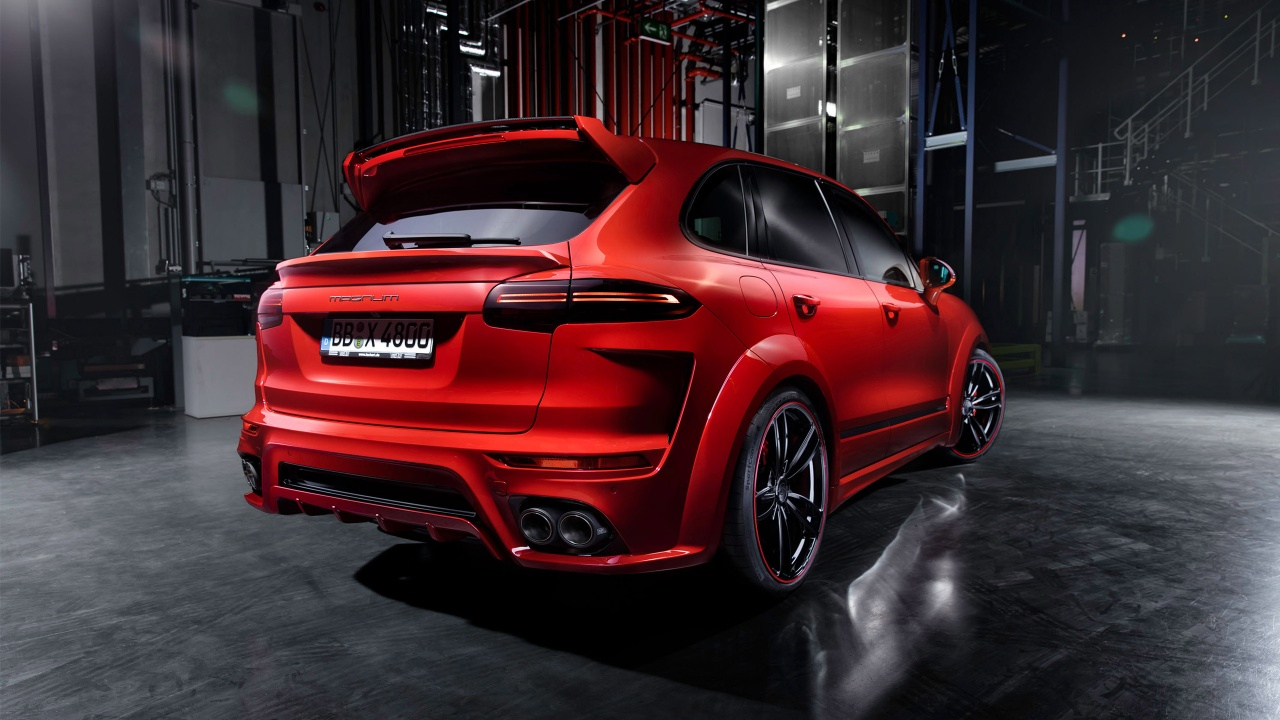 Techart Porsche Cayenne Magnum 4