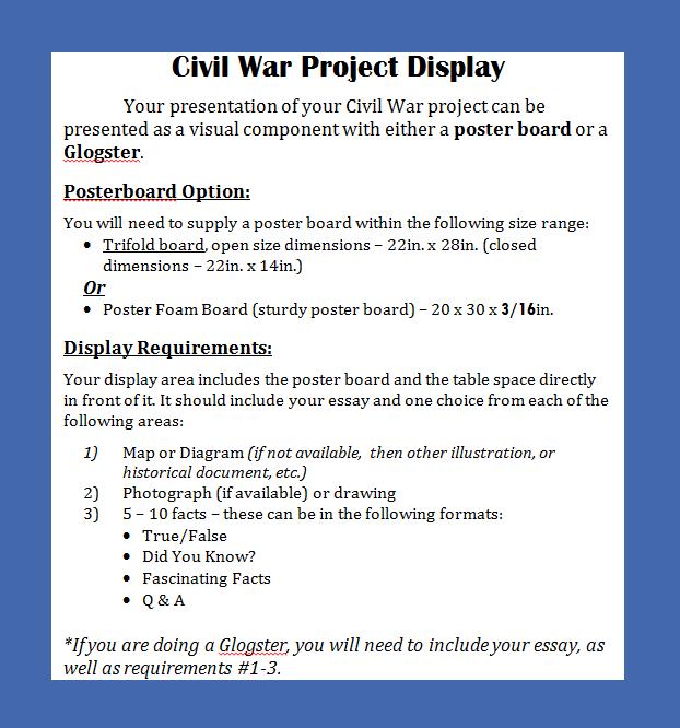 civil war essay thesis