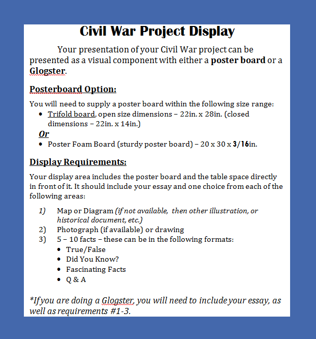 thesis statement on civil war Slavery as the cause of the civil war essay in this paper we would analyze the causes of the civil war and advocate the thesis that slavery was the cause of the.